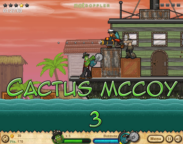 Click Here to play Cactus McCoy 3
