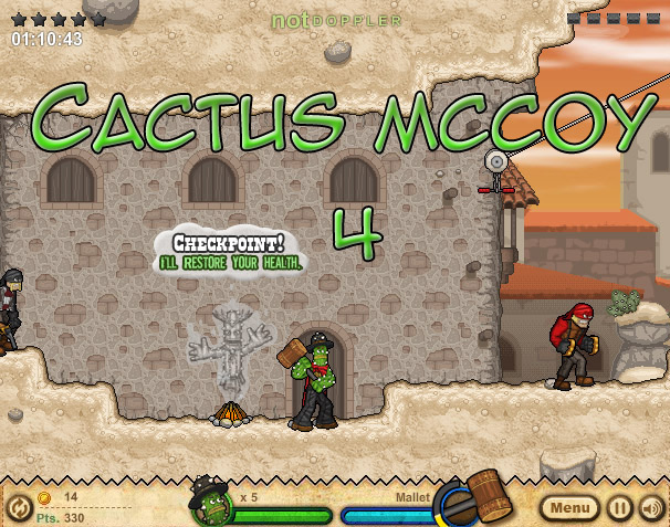 Click Here to play Cactus McCoy 4